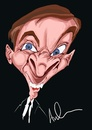 Cartoon: Kenneth Williams (small) by Andyp57 tagged caricature,wacom,painter