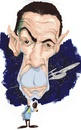 Cartoon: Leonard Nimoy - Spock (small) by Andyp57 tagged caricature,gouache