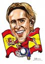 Cartoon: Caricature of Fernando Torres (small) by jit tagged caricature,of,fernando,torres