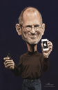 Cartoon: digital caricature of Steve Jobs (small) by jit tagged digital,caricature,of,ceo,steve,jobs,draw,sketch,paint,speedpainting,photoshop,wacom,cintiq,white,apple,iphone,4s