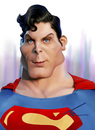 Cartoon: Christopher Reeve-superman (small) by besikdug tagged besikdug,georgia,caricature,usa,christopher,reeve,superman