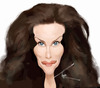 Cartoon: Liv Tyler (small) by besikdug tagged actor,holliwood,besikdug,liv,taler,georgia,usa