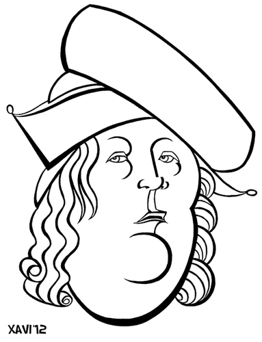 Cartoon: Paracelsus (medium) by Xavi Caricatura tagged paracelsus,paracelso,medicine,doctor,history,caricature,cartoon