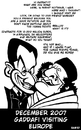 Cartoon: A friend of Sarkozy (small) by Xavi Caricatura tagged gaddafi,sarkozy,europe,shame,libia,libya,france