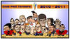 Cartoon: Club Pati Tordera 2011 (small) by Xavi Caricatura tagged cp,tordera,rolling,hockey,sport,team