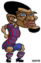 Cartoon: FC Barcelona 2010 Dani Alves (small) by Xavi Caricatura tagged alves,dani,caricature,caricatura,fcb,barcelona,football,futbol