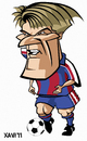 Cartoon: Michael Laudrup (small) by Xavi Caricatura tagged michael,laudrup,barcelona,football,soccer,sport,fcb