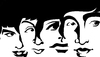 Cartoon: The Beatles (small) by Xavi Caricatura tagged the,beatles,art,cartoon,ringo,starr,john,lennon,paul,mcartney,george,harrison
