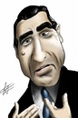 Cartoon: Robert De Niro (small) by cesar mascarenhas tagged robert de niro caricature