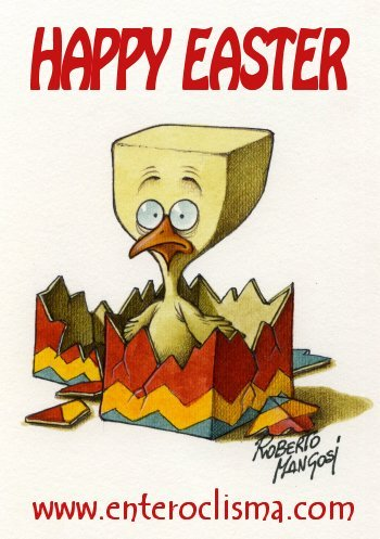 Cartoon: Happy Easter (medium) by Roberto Mangosi tagged easter
