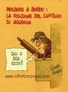 Cartoon: The unlucky Captain (small) by Roberto Mangosi tagged shipwreck,costa,naufragio,nave,capitano