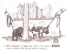 Cartoon: Dogs Facebook (small) by viconart tagged dog,facebook,cartoon,viconart