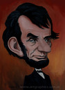 Cartoon: Abraham Lincoln (small) by takacs tagged abraham,lincoln,caricature,portrait