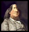 Cartoon: Benjamin Franklin (small) by Amauri Alves tagged photoshop