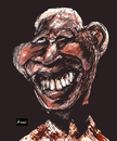 Cartoon: Mandela Experience (small) by Amauri Alves tagged digital,experience