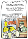Cartoon: 16. September (small) by chronicartoons tagged stiftung,warentest,gummibärchen,haribo,cartoon