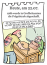 Cartoon: 22. Juli (small) by chronicartoons tagged prügelstrafe