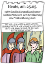 Cartoon: 25.Mai (small) by chronicartoons tagged volkszählung,jesus,herodes,bibel