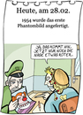 Cartoon: 28. Februar (small) by chronicartoons tagged chronicartoons,cartoon,phantombild,clown