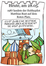Cartoon: 28. Mai (small) by chronicartoons tagged rust,kreml,moskau,kalterkrieg,cessna,cartoon