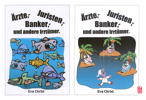 Cartoon: ärzte-juristen-banker (medium) by zenundsenf tagged zenundsenf,zensenf,zenf,banker,juristen,ärzte