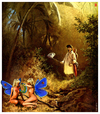 Cartoon: Spitzweg-Butterbeasts (small) by zenundsenf tagged carl,spitzweg,butterbeasts,butterflies,composing,cartoon,illustration,homage,zenf,zensenf,zenundsenf,andi,walter