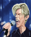 Cartoon: David Bowie (small) by Darrell tagged david,bowie,by,darrell,thompson