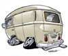 Cartoon: Panel van (small) by Darrell tagged panel,van,vw,cartoon,caricature,dazzlarock