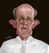 Cartoon: Pope (small) by Darrell tagged pope
