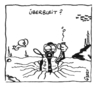Cartoon: Überbleit (small) by mart tagged tauchen,scuba,bleigurt,ballast