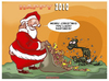 Cartoon: merry christmas (small) by ELCHICOTRISTE tagged christmas