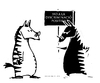 Cartoon: POSITIVE DISCRIMINATION (small) by ELCHICOTRISTE tagged discrimination