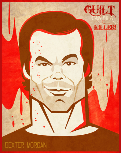 Cartoon: DEXTER (medium) by Martynas Juchnevicius tagged vector,caricature,film,actor,tv,famous,dexter,morgan