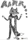 Cartoon: lonely wolf (small) by tomandrug tagged wolf