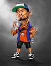 Cartoon: Boy Pick-up Ogie Alcasid (small) by Rey Esla Teo tagged ogie,alcasid,actor,caricature,digital,painting