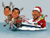 Cartoon: Captain Santa (small) by Rey Esla Teo tagged caricature,portrait