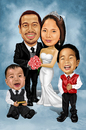 Cartoon: Hayag Family (small) by Rey Esla Teo tagged caricature,portrait,digital,painting