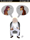 Cartoon: Els Dubtes de Darwin (small) by DrCoragre tagged humor,darwin,caricatura