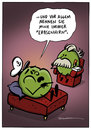 Cartoon: Cartoon von Schwarwel (small) by Schwarwel tagged cartoon,schwarwel,witz,lustig,erbse,couch