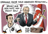 Erdogan wütend