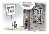 Cartoon: Occupy Wall Street (small) by Schwarwel tagged occupy,wall,street,protest,bewegung,europa,deutschland,karikatur,schwarwel