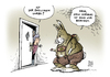 Cartoon: Post Streik Ostern (small) by Schwarwel tagged post,streik,ostern,ostergrüße,osterhase,karikatur,schwarwel
