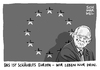 Cartoon: Schäuble nach Brexit (small) by Schwarwel tagged schäuble,brexit,eu,europäische,union,austritt,great,britain,großbritannien,england,finanzminister,minister,kommission,regierung,regierungen,brüssel,referendum,karikatur,schwarwel