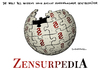 Cartoon: Wikipedia (small) by Schwarwel tagged englisch,wikipedia,online,portal,netz,www,web,world,wide,us,usa,gesetz,sopa,pipa,protest,protestieren,staat,staatlich,zensur,karikatur,schwarwel,wissen,amerika