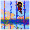 Cartoon: holy monet (small) by edda von sinnen tagged claude,monet,impressionismus,zenundsenf,zensenf,zenf,andi,walterheiliger,holy,homage,edda,von,sinnen,illustration,caricature,cartoon