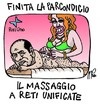 Cartoon: local elections in italy (small) by emmeppi tagged italy,politics,berlusconi,media