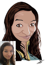 Cartoon: caricature 2 (small) by tinotoons tagged caricature,woman,smile