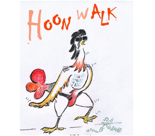 Cartoon: Hoonwalk (medium) by egodos tagged jackson,moonwalk,tanz,karikatur,usa,pop,hahn
