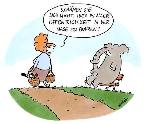 Cartoon: Love in the open Air (medium) by Ottitsch tagged masturbation,bohren,nase,liebe,erwischt,öffentlichkeit,elefant,dame,parkbank,natur,erotik