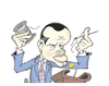 Cartoon: RECEP TAYYIP ERDOGAN (small) by halileser tagged politics